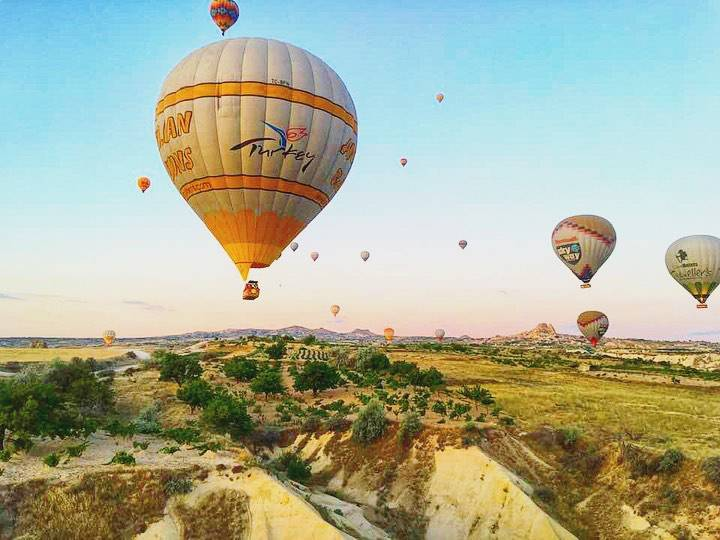Cappadocia熱氣球之旅