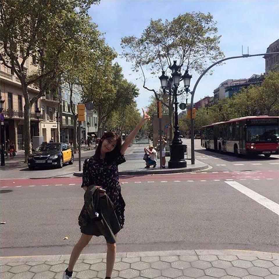 耶 Yoona到此一遊